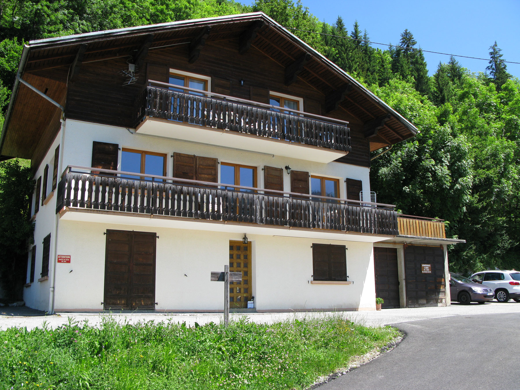 location appartement Grand Bornand